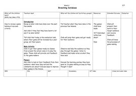 Branching-Database--week-6.doc
