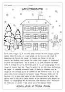 FRENCH - CHRISTMAS - C'est Presque Noël - Comprehension - Worksheets