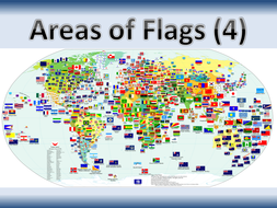 Areas of Flags (with circles)