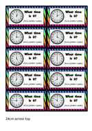 Flashcards-For-Game---Analogue-Clock.docx