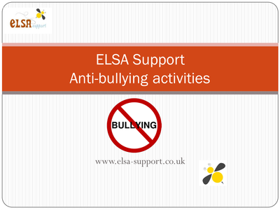 anti bullying pack by elsasupport uk teaching resources tes. Black Bedroom Furniture Sets. Home Design Ideas
