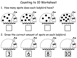 counting spots eyfs ks1 maths powerpoint and worksheets by teacher of primary teaching. Black Bedroom Furniture Sets. Home Design Ideas