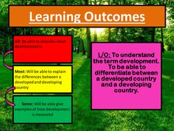 AQA/Edexcel GCSE Introduction to Development