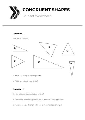 resource 4b congruent shapes student. Black Bedroom Furniture Sets. Home Design Ideas
