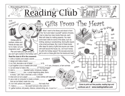 Bundle: Handmade Holiday Gifts Activity Page, Puzzle, and Paper Crafts