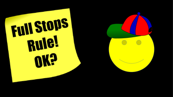 Full Stops PowerPoint Lesson and Worksheets