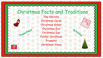 english christmas history and traditions activitiesppt and activities