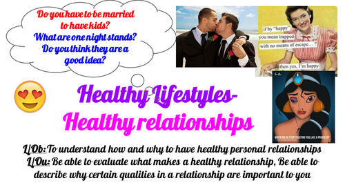 Post 16 PSHCEE Healthy relationships- domestic violence and what makes a good relationship