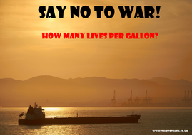15 FREE Say No To War Posters! Great slogans to discuss and share in the  Keystage 2 or Keystage 3