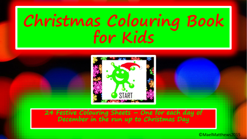 Christmas crafts. Christmas Colouring Book