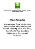imovie trailer templatespdf
