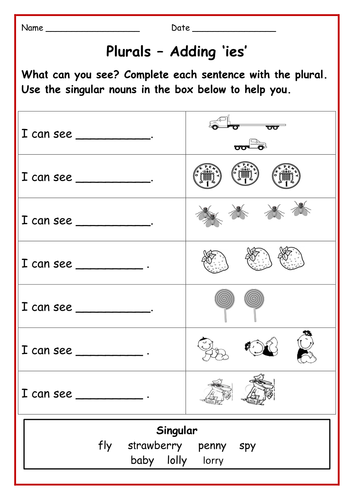 all worksheets adding s es ies worksheets printable worksheets guide for children and parents. Black Bedroom Furniture Sets. Home Design Ideas