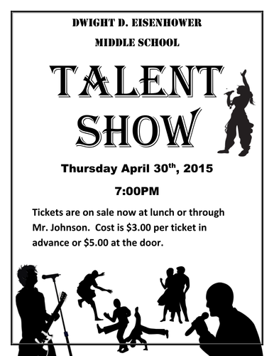 Talent Show: The kit to run your event! by Jonmayhew1234