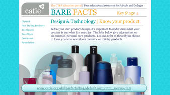 Bare Facts - Design &Technology product design by ctpa_catie