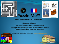 Puzzle Me French House And Rooms Cover Page