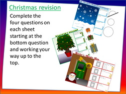 Christmas-revision-sheets-instructions.pptx