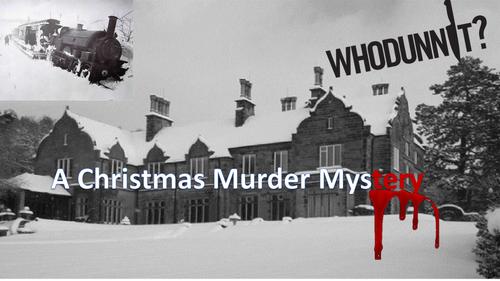 A Christmas Murder Mystery – Full Lesson