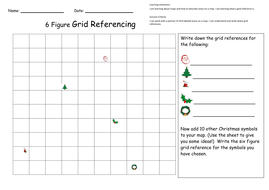 Christmas Grid Reference Activity