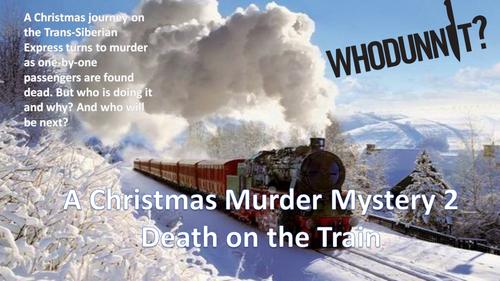 A Christmas Murder Mystery 2, Death on the Train - Full Lesson