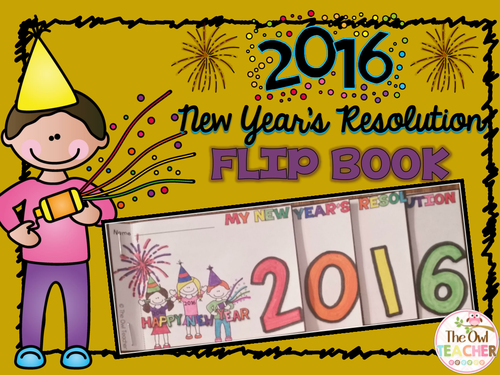 Top Resolutions: New Years Resolution Flipbook
