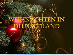 Wann Ist Weihnachten In Deutschland.Weihnachten In Deutschland Christmas In Germany
