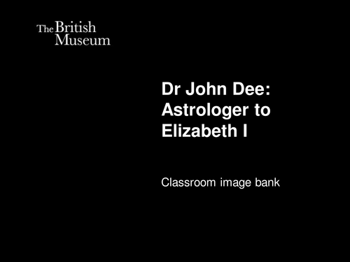 Shakespeare's influences: Dr John Dee image bank