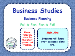 what is in a business plan