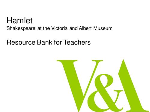 Shakespeare's Hamlet Image Bank