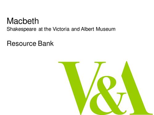 Shakespeare's Macbeth Image Bank