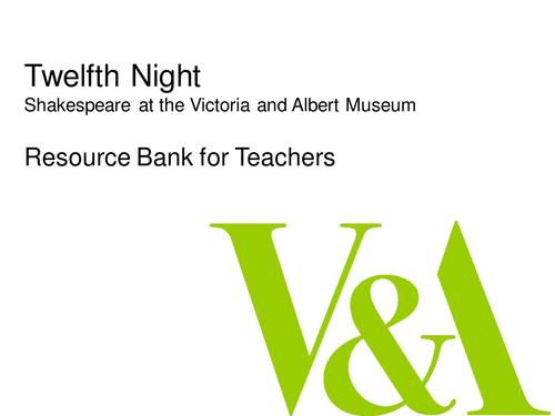 Shakespeare's Twelfth Night Image Bank
