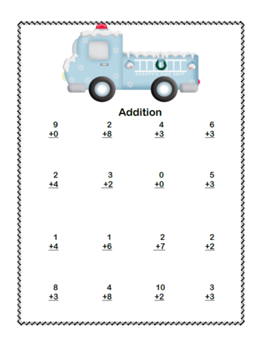 math addition subtraction within 20 worksheets frosty heroes by mccormick33 teaching. Black Bedroom Furniture Sets. Home Design Ideas