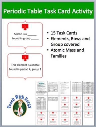 Periodic table complete bundle lesson webquest task card and periodic table complete bundle lesson webquest task card and inquiry project by teachwithfergy teaching resources tes urtaz Gallery