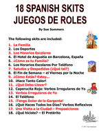 Spanish Skits Bundle of 18!