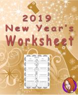 New Year Worksheet