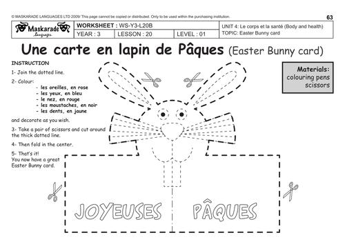 french unit 5 food y3 y4 happy easter april fools tricks poisson d avril joyeuses. Black Bedroom Furniture Sets. Home Design Ideas