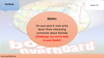boy overboard lesson sow by amyjaney teaching resources tes lesson 11 boy overboard pptx