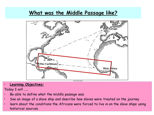 The Middle Passage by tammy_harding - Teaching Resources - TES