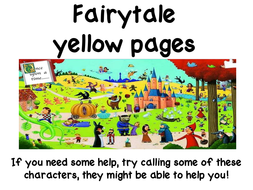 Fairytale Yellow Pages