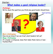 Cults, Religions +Leaders