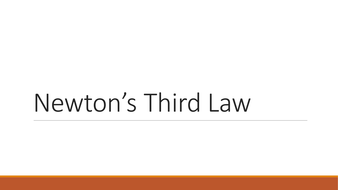 newton s third law by liamfricker teaching resources tes