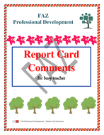 Report Card Remarks