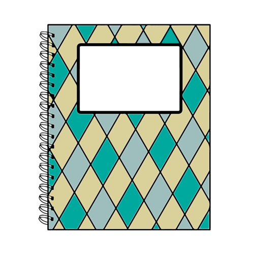 notebook cover clipart - photo #10