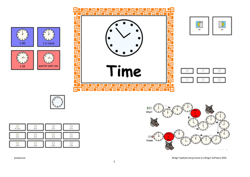 'Time'  Activities