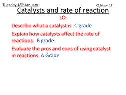 Aqa c2 catalysts and rate of reaction by th106 teaching resources aqa c2 catalysts and rate of reaction urtaz Choice Image