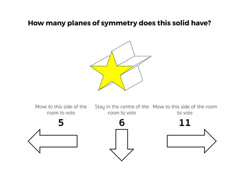 3D Solids & Planes of Symmetry - Complete Lesson by tomotoole ...