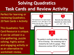 Continents And Oceans Quiz Worksheet Solving Quadratic Equations  Task Cards And Unique Activity  Stoichiometry Mixed Problems Worksheet Word with Operant Conditioning Worksheet Answers Word Quad  Worksheets On Capital Letters