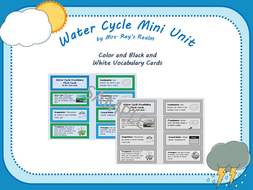 Water/Weather Cycle Mini Unit | Teaching Resources