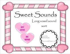Sweet Sounds Long Vowel Word Sort