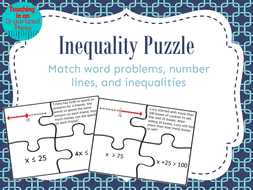 Solving one step inequalities word problem puzzle by randistowe png inequality puzzlepdf ccuart Gallery