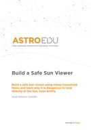 Build a Safe Sun Viewer